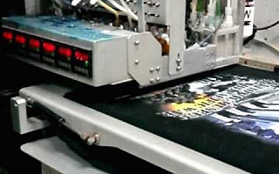 A Kornit digital garment printer (Photo credit: Courtesy)