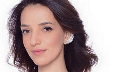 Arab Israeli TV presenter Lucy Aharish (photo credit: Facebook)