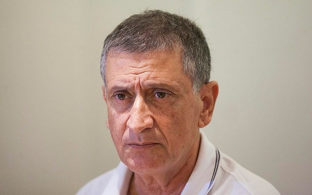 Foreign Ministry Director Nissim Ben-Shitrit in a photo dated October 16, 2014. (Photo credit: Yonatan Sindel/Flash90)