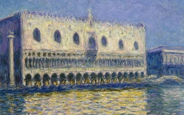Le Palais ducal, 1908, Claude Monet. (Photo credit: Wikimedia)