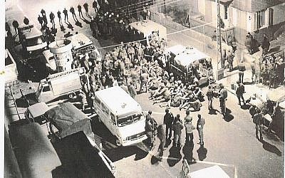 The 1975 Savoy Hotel attack (photo credit: JTA)