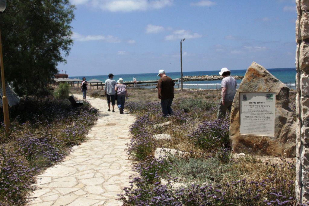 The Shavei Zion promenade (photo credit: Shmuel Bar-Am)
