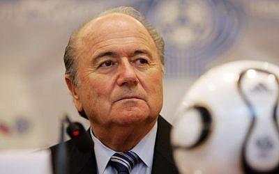 FIFA President Sepp Blatter. (Photo credit: Shutterstock)