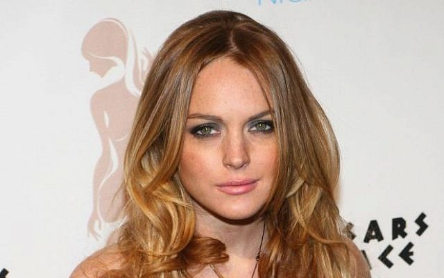 Hollywood actress Lindsay Lohan in Las Vegas in 2008. (Lindsay Lohan image via Shutterstock).