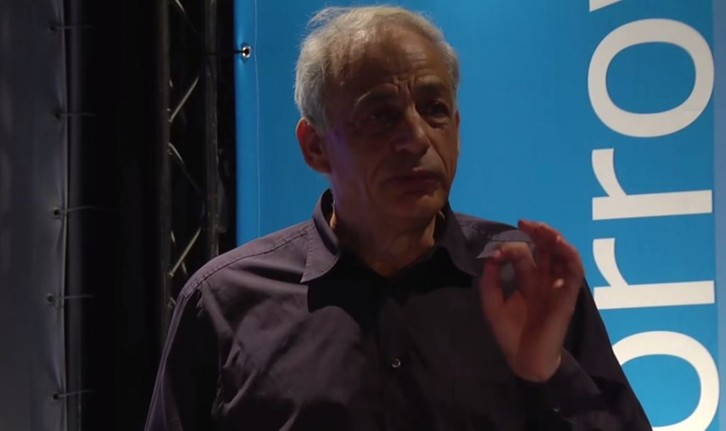 Prof. Shimon Ullman (screen capture: YouTube)
