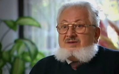 Renowned Soviet refusenik Vladimir Slepak in 2007. (screen capture: YouTube)