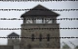 File photo: A picture taken on April 28, 2015, shows a barbed wire fence at a former Nazi concentration camp. (Joe Klamar/AFP)