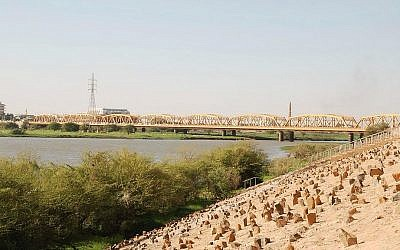 A view of the Sudanese city of Omdurman (photo credit: Wikimedia Commons/Bertramz CC BY 3.0)