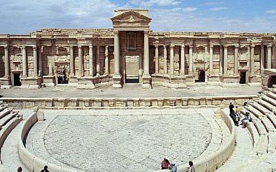 Palmyra's Theater (Jerzy Strzelecki)