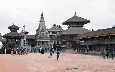 A view of Bhaktapur's Durbar Square before the April 25 earthquake (Flickr Creative Commons)