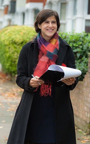 Jewish Labour candidate Sarah Sackman: 'I hope to represent people of all faiths -- and no faith -- equally.' (courtesy)