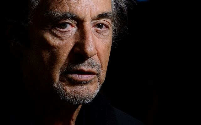 Al Pacino, in London on May 18, 2015. (Photo by Jonathan Short/Invision/AP)