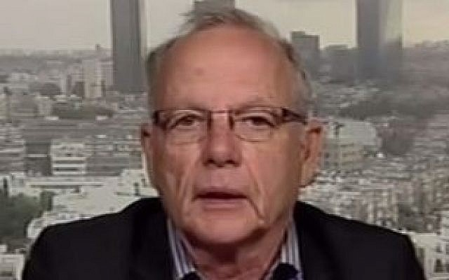 Veteran Israeli journalist Akiva Eldar. (Youtube screen capture/Al Jazeera English)