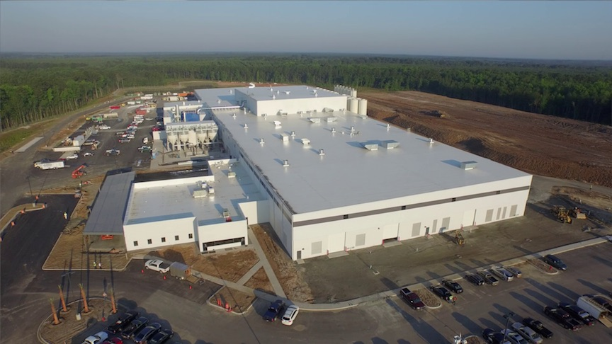 Aerial View Of Caesarstone S New Us Manufacturing Facility In N Richmond Hill Georgia