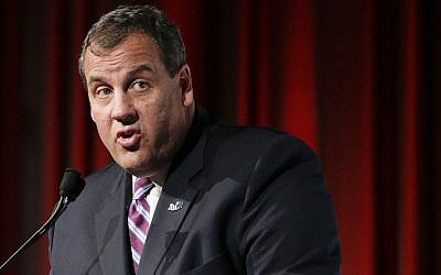 File: New Jersey Gov. Chris Christie in May 2015. (AP Photo/Julie Jacobson)