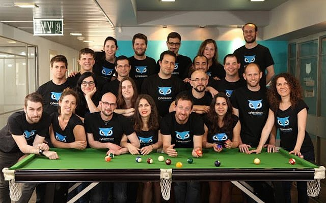 Cybereason team (Photo credit: Courtesy)