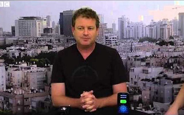 Doron Myersdorf, CEO of StoreDot (BBC screenshot)