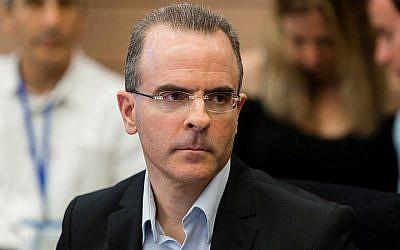 Israel Antitrust Commissioner David Gilo, March 18, 2014. (Flash 90)