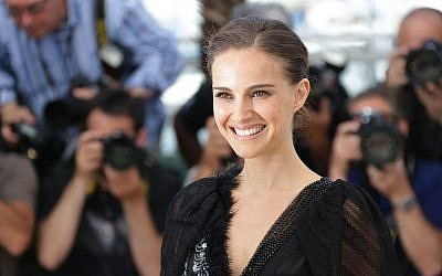 Director and actress Natalie Portman poses for photographers at the photo call for the film 'A Tale of Love and Darkness,' at the 68th international film festival, Cannes, France, May 17, 2015. (AP/Joel Ryan/Invision)