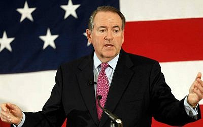 Former Arkansas Republican Gov. Mike Huckabee. (AP Photo/Jim Cole, File)
