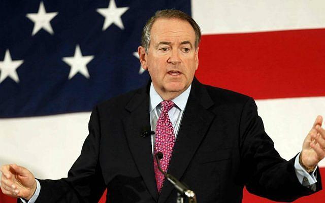 Former Arkansas Republican Gov. Mike Huckabee. (AP Photo/Jim Cole, File)