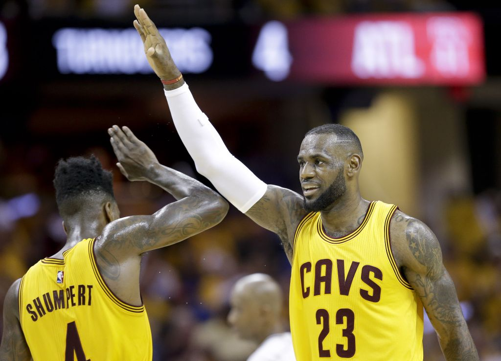 Cavs trounce Hawks to head to NBA finals | The Times of Israel