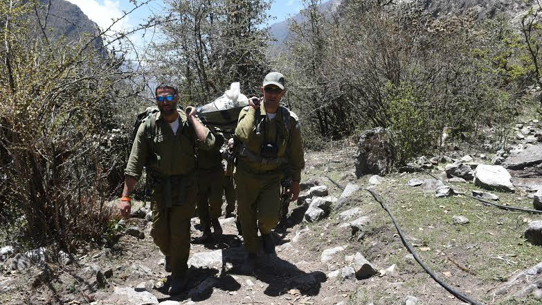 IDF rescue teams operating in Nepal (photo credit: Spokesperson's Unit)