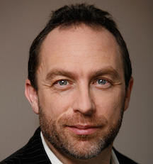 Jimmy Wales (Photo credit: Courtesy)