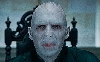 Ralph Fiennes as Lord Voldemort in Harry Potter and the Deathly Hallows – Part 1. (photo credit: Warner Bros. / Wikipedia)