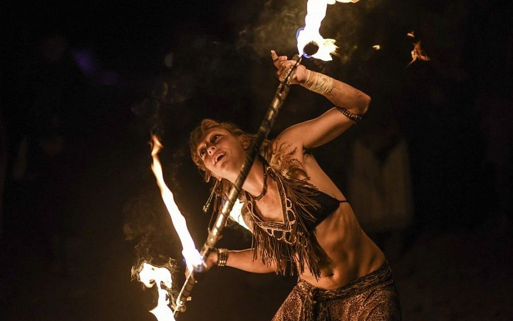 Burning Man-style event in West Bank stokes controversy