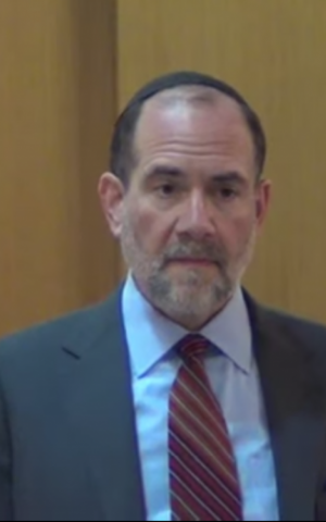Rabbi Jonathan Rosenblatt speaking at the Riverdale Jewish Center in New York on February 26, 2014. (Screen grab: YouTube)