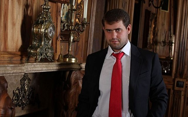 Israeli-born Moldovan businessman Ilan Shor. (Wikimedia/CC0 1.0 Universal Public Domain Dedication)