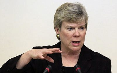 Rose Gottemoeller, Acting Under Secretary for Arms Control and International Security. (AP Photo/Sergey Ponomarev, File)