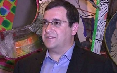 David Goldberg, husband of Facebook COO Sheryl Sandberg, died May 1, 2015. (screen capture: YouTube)