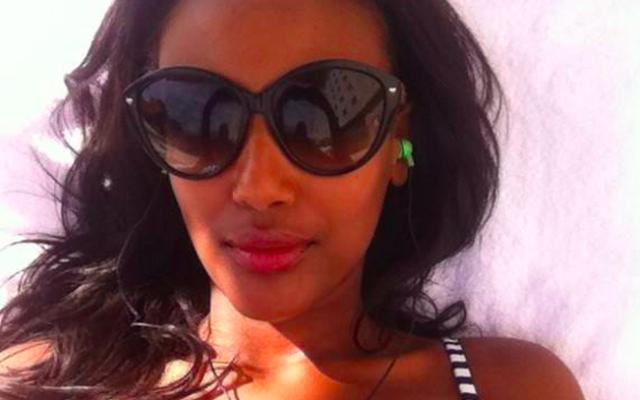 Ethiopian-born Israeli model Israela Avtau left Israel when she couldn't get any modeling jobs because of the color of her skin (Courtesy Israela Avtau Facebook page)