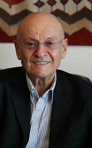 Dr. Shalom Salomon Wald (Barry Geltman/JPPI)