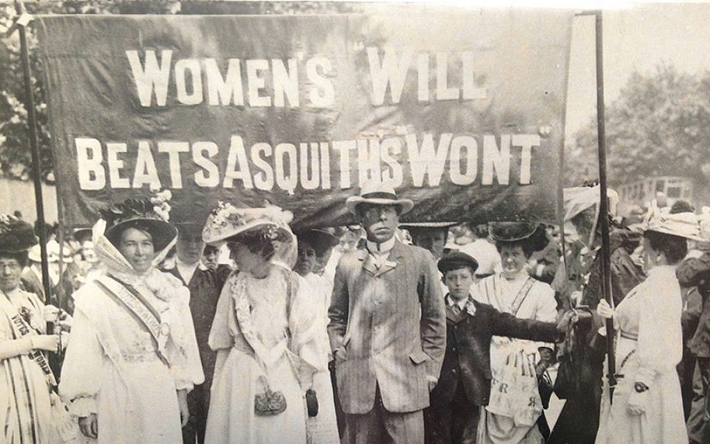 Israel Zangwill was an ardent suffragist and worked alongside his wife Edith and her family, helping to establish United Suffragists, one of the later campaign organizations. (courtesy)