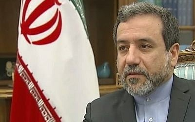 Iranian nuclear negotiator Abbas Araqchi (YouTube screen capture/Channel 4 News)