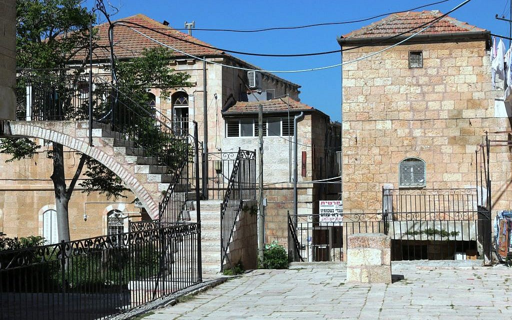 The Batei Rand complex (Photo credit: Shmuel Bar-Am)