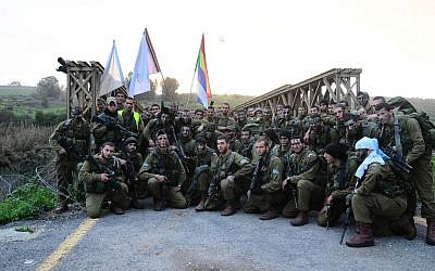 Battalion 299 soldiers in the field, February 10, 2012 (Courtesy IDF/Flickr)