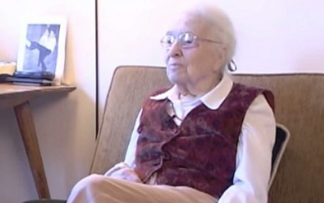 Co-founder of Lamaze International Elisabeth Bing. (Screenshot/YouTube)