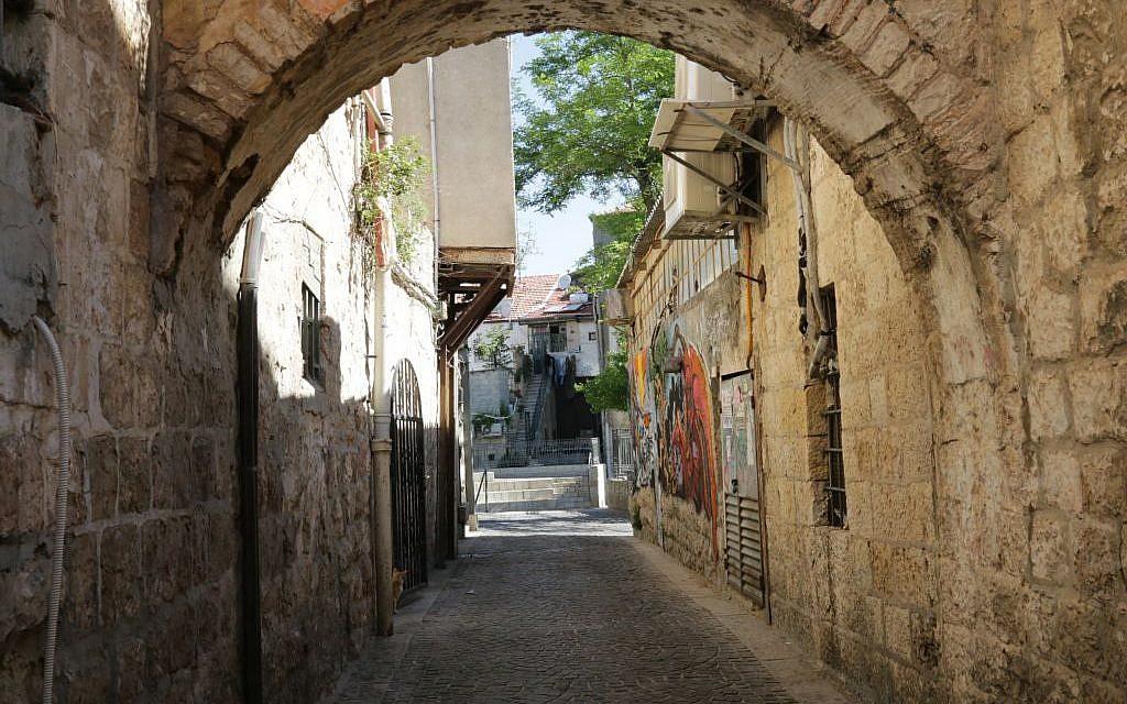 On Agrippas Street Jerusalem Built To The Sky And Feuding