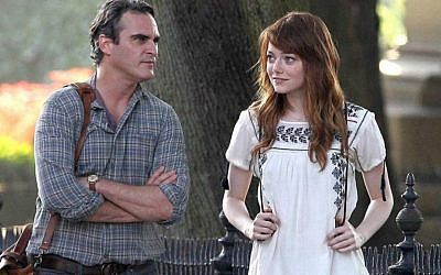 Joaquin Phoenix and Emma Stone in Woody Allen's 'Irrational Man' (Cannes Film Festival)