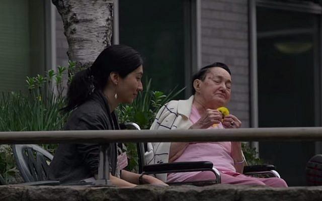 Residents at Jewish Home Lifecare, New York (YouTube screenshot)