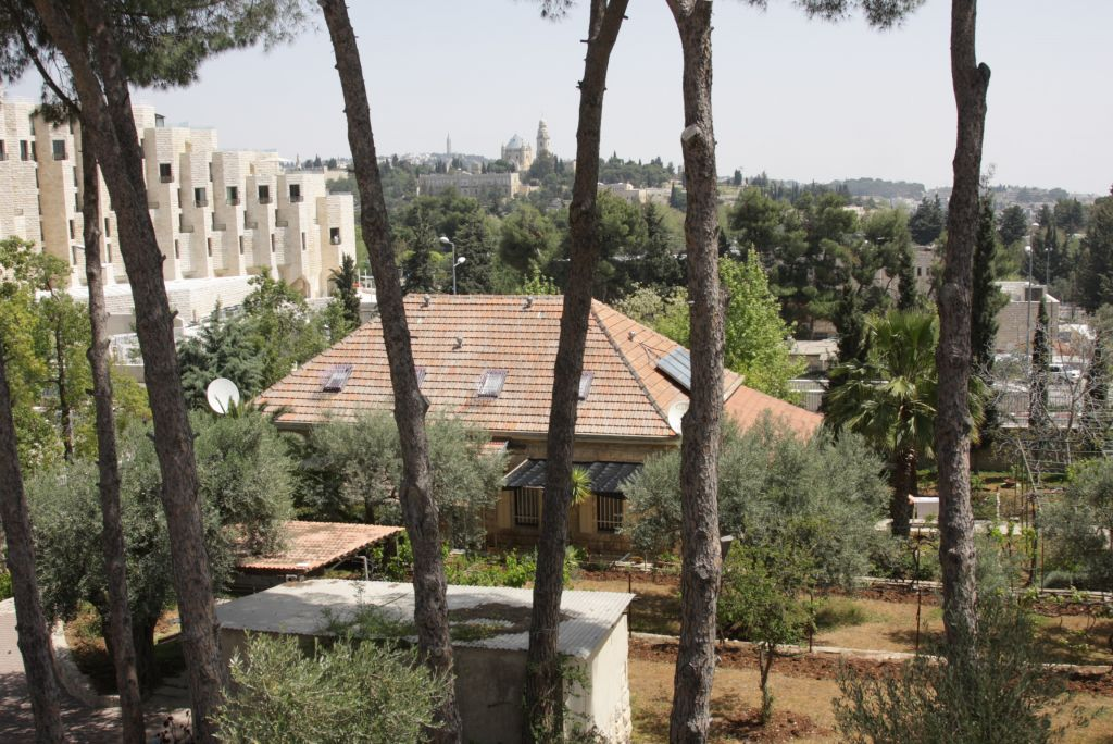 The little house at the heart of the Capuchin monastery in Jerusalem (Shmuel Bar-Am)