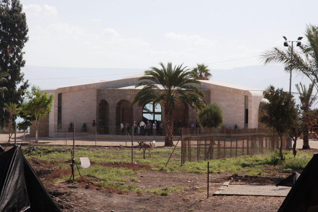 Magdala's prayer and reflection center (Shmuel Bar-Am)