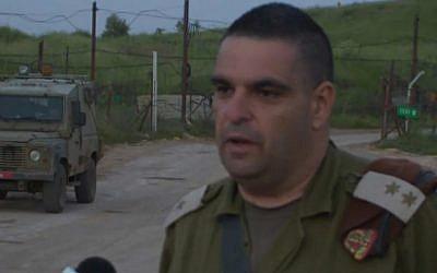 Lieutenant Colonel Dr. Itzik Malka. (screen capture: Ynet)