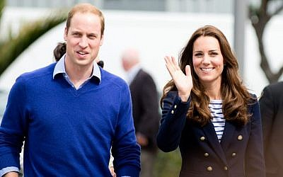 Duke and Duchess of Cambridge, Prince William and Kate Middleton, in Auckland, New Zealand in 2014. (Prince William and Kate Middleton image via Shutterstock).