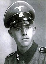 Gerhard Sommer in SS uniform