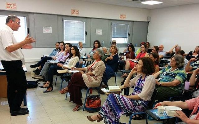 A session at Tel Aviv's first Limmud conference, held May 14-15, 2015. (Limmud TLV Facebook)